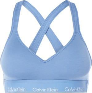 Niebieski biustonosz Calvin Klein Underwear