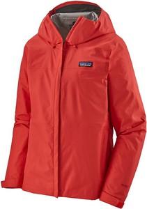 Czerwona kurtka Patagonia w sportowym stylu krótka