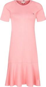 Sukienka Tommy Hilfiger z krótkim rękawem