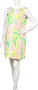 Sukienka Lilly Pulitzer bez rękawów w stylu casual mini