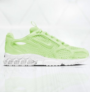 Zielone buty sportowe Nike zoom sznurowane