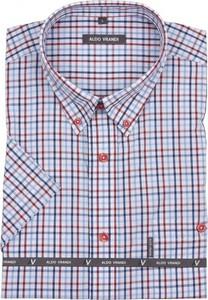 Koszula Aldo Vrandi z krótkim rękawem w stylu casual