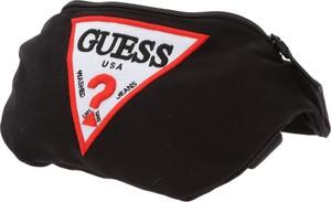 Czarna torba Guess z bawełny