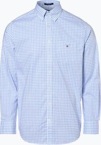 Niebieska koszula Gant w stylu casual