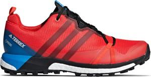Buty trekkingowe Adidas sznurowane z goretexu