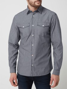 Koszula Jack & Jones z kołnierzykiem button down z bawełny w stylu casual