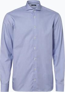 Niebieska koszula van Laack