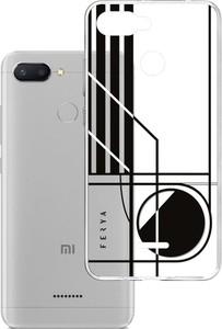 Etui amortyzujące uderzenia do Xiaomi Redmi 6 Global, z unikatową grafiką 3D ferya CIRCLE