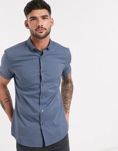 Niebieska koszula topman