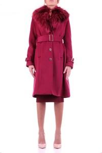 Czerwony płaszcz Guess w stylu casual