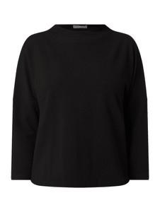 Czarna bluzka Jake*s Collection w stylu casual z okrągłym dekoltem