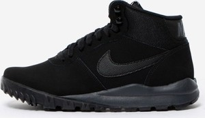 Buty zimowe Nike ze skóry sznurowane