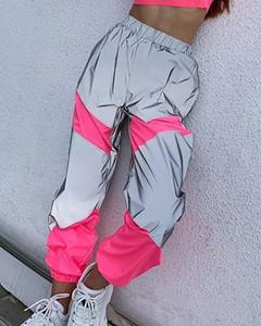Różowe spodnie Kendallme z dresówki