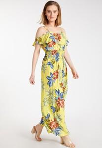 Sukienka Monnari maxi z krótkim rękawem