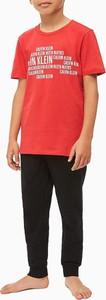Czerwona koszulka dziecięca Calvin Klein