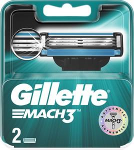 Gillette, Mach3, wymienne ostrza do maszynki do golenia, 2 szt.