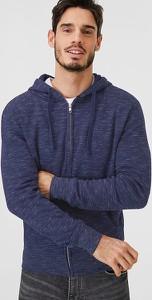 Niebieska bluza ANGELO LITRICO z bawełny