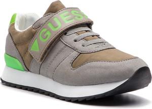 Buty sportowe dziecięce Guess na rzepy