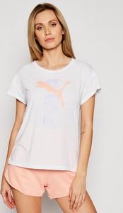 T-shirt Puma z krótkim rękawem z okrągłym dekoltem