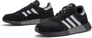 Czarne buty sportowe Adidas z zamszu