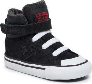 Buty dziecięce zimowe Converse na rzepy