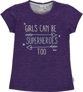 Granatowa koszulka dziecięca Lee Cooper