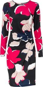Sukienka bonprix mini z okrągłym dekoltem w stylu casual