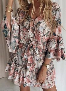Sukienka Cikelly z długim rękawem mini