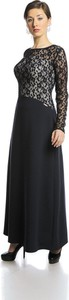 Sukienka Fokus w stylu glamour z długim rękawem