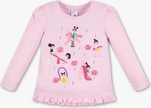 Koszulka dziecięca Palomino z długim rękawem z bawełny