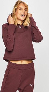 Bluza Puma krótka z bawełny