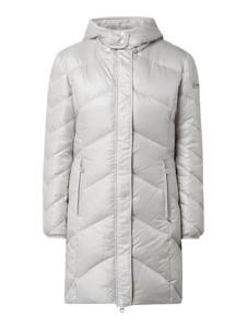 Srebrny płaszcz Frieda & Freddies w stylu casual