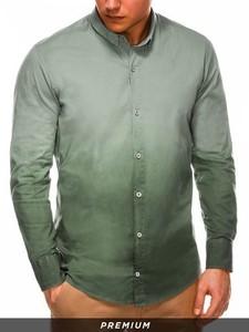 Zielona koszula Ombre
