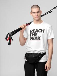 T-shirt 4F w młodzieżowym stylu z krótkim rękawem z dzianiny