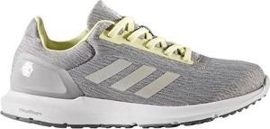 Buty sportowe Adidas na koturnie w sportowym stylu z zamszu