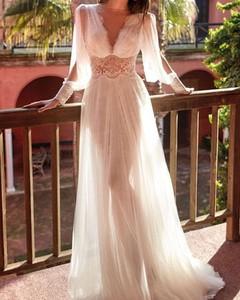 Różowa sukienka Kendallme z dekoltem w kształcie litery v