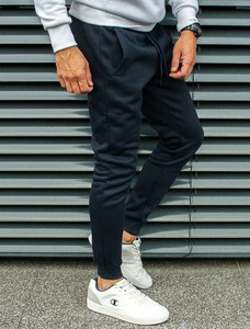 Spodnie sportowe Recea w młodzieżowym stylu z bawełny
