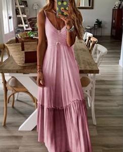 Sukienka Sandbella kopertowa