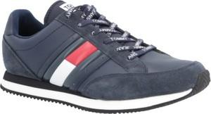 Tommy Jeans Sneakersy Casual Retro | z dodatkiem skóry