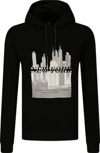 Czarna bluza Armani Exchange z nadrukiem