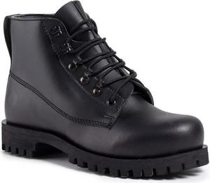 Czarne buty zimowe Altercore
