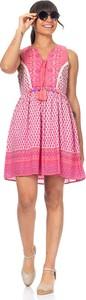 Różowa sukienka Peace & Love mini