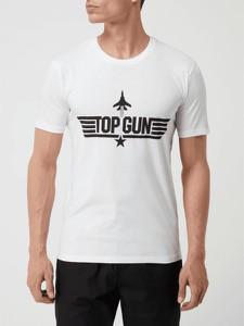 T-shirt Top Gun z krótkim rękawem w młodzieżowym stylu