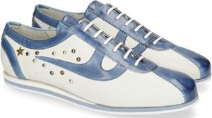 Sneakersy Melvin & Hamilton z płaską podeszwą sznurowane