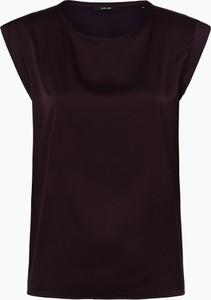 Czarna bluzka Opus z okrągłym dekoltem