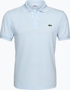 połowa ceny szeroki zasięg szczegółowe obrazy Niebieskie koszulki męskie Lacoste, kolekcja jesień 2019