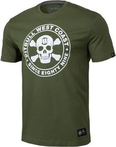 Zielony t-shirt Pit Bull