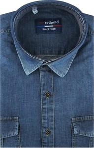 Koszula Redpolo z długim rękawem z jeansu