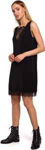 Sukienka Merg na ramiączkach mini prosta