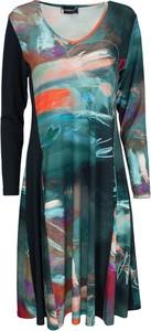 Sukienka Bohéme z długim rękawem